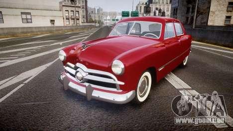 Ford Custom Fordor 1949 v2.2 pour GTA 4
