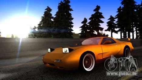 ZR-350 by Verone v.1 pour GTA San Andreas laissé vue