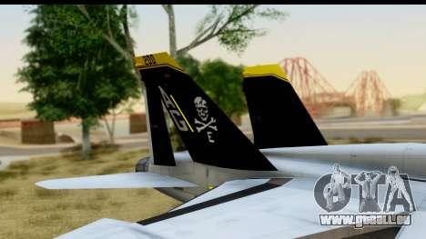 FA-18D VFA-103 Jolly Rogers pour GTA San Andreas vue de droite