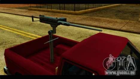 Bobcat Technical Pickup pour GTA San Andreas vue de droite