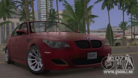 BMW M5 E60 2009 Stock für GTA San Andreas