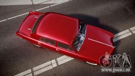 Ford Custom Fordor 1949 v2.2 pour GTA 4 est un droit