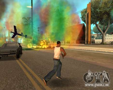 Rainbow Effects pour GTA San Andreas