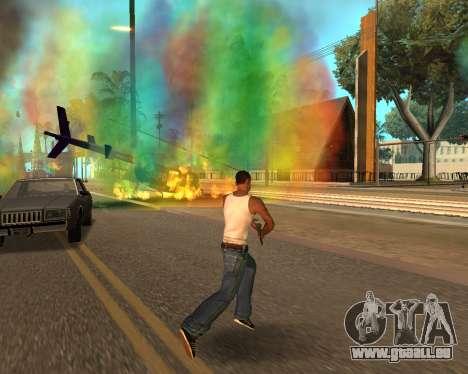 Rainbow Effects pour GTA San Andreas