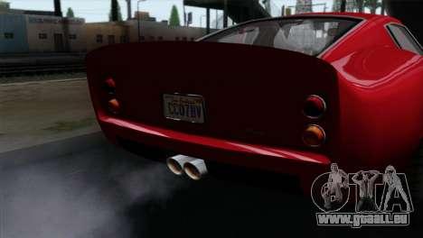 GTA 5 Grotti Stinger GT v2 IVF pour GTA San Andreas vue de droite