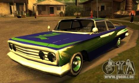 Luni Voodoo für GTA San Andreas zurück linke Ansicht
