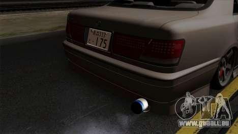 Toyota Crown pour GTA San Andreas vue arrière