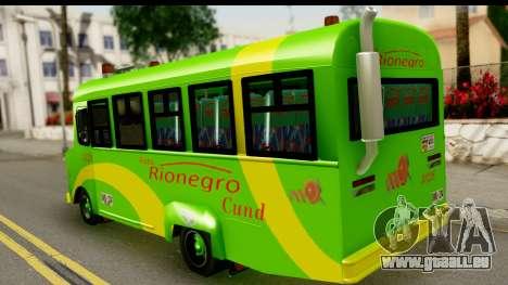 Chevrolet C30 Bus pour GTA San Andreas laissé vue