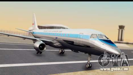 Embraer 175 PLL LOT Retro für GTA San Andreas