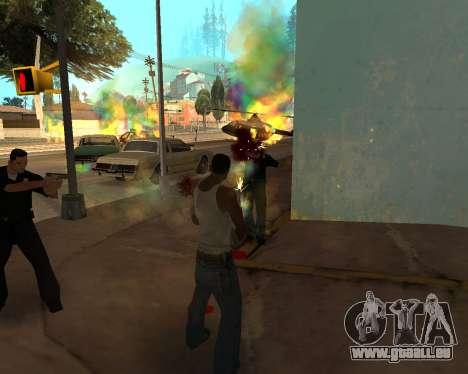 Rainbow Effects pour GTA San Andreas deuxième écran