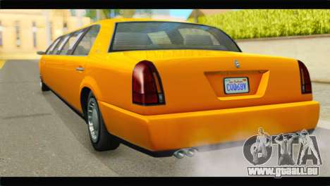 GTA 5 Dundreary Stretch pour GTA San Andreas laissé vue