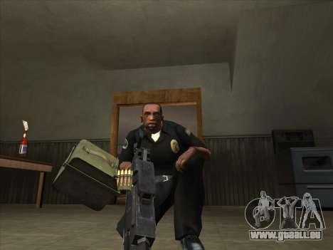 CORDON de Battelfield 2 pour GTA San Andreas deuxième écran