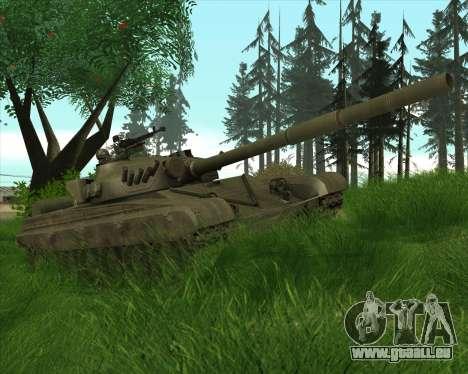 T-72 pour GTA San Andreas vue arrière