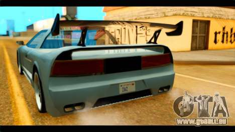 Infernus Rapide GTS Stock pour GTA San Andreas vue arrière