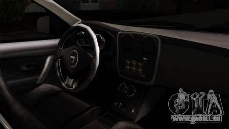 Dacia Logan MCV 2013 IVF für GTA San Andreas rechten Ansicht