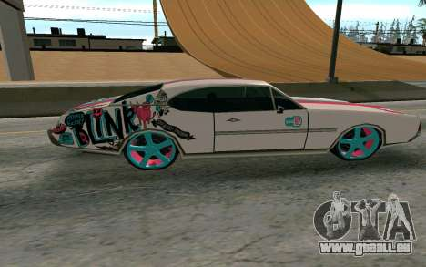 Clover Blink-182 Edition pour GTA San Andreas laissé vue