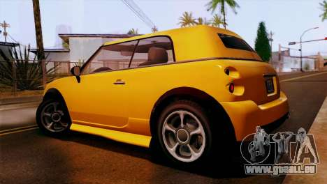GTA 5 Weeny Issi pour GTA San Andreas laissé vue