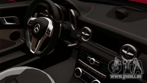 Mercedes-Benz SLK55 AMG 2012 pour GTA San Andreas vue de droite