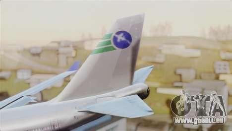 GTA 5 Caipira Airways für GTA San Andreas zurück linke Ansicht