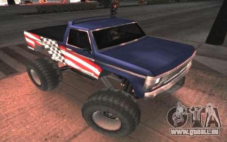 Neue Texturen Letzte Monster für GTA San Andreas