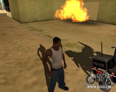 Die Schatten von Menschen und Autos für GTA San Andreas dritten Screenshot