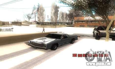 ENB Series v077 Light Effect pour GTA San Andreas quatrième écran