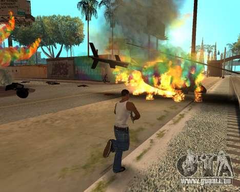 Rainbow Effects pour GTA San Andreas cinquième écran