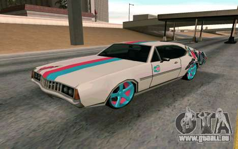Clover Blink-182 Edition pour GTA San Andreas