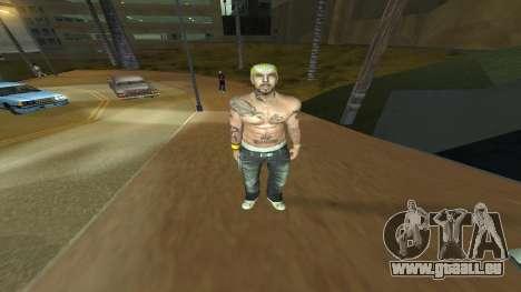 Los Santos Vagos Skin Pack pour GTA San Andreas troisième écran