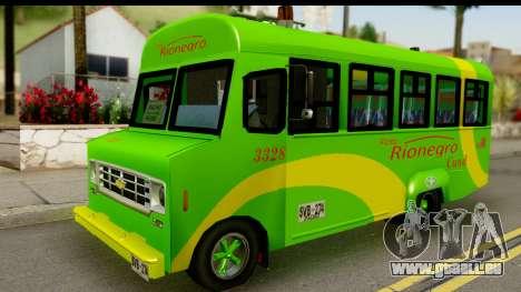 Chevrolet C30 Bus pour GTA San Andreas
