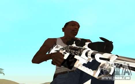 Skeleton Weapon Pack pour GTA San Andreas quatrième écran
