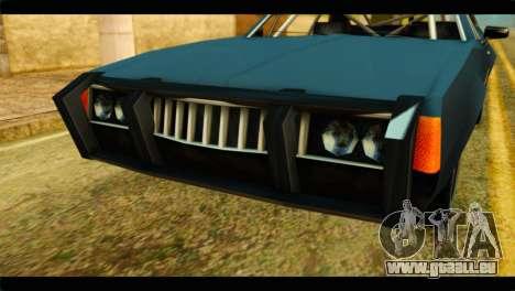 Clover Technical pour GTA San Andreas vue arrière