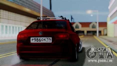 Volkswagen Jetta Stance pour GTA San Andreas laissé vue
