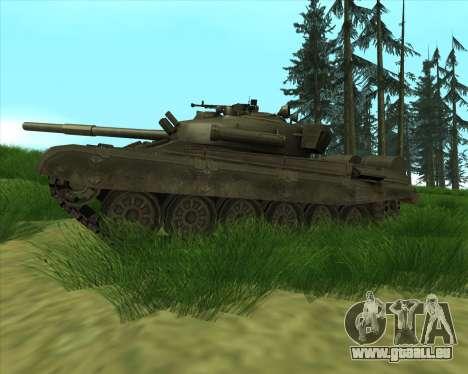 T-72 pour GTA San Andreas laissé vue