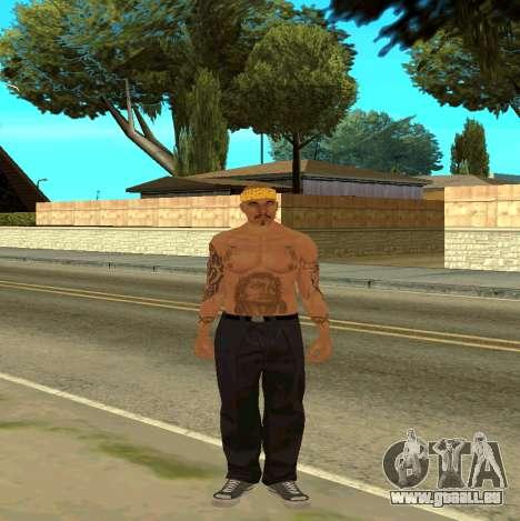 Macheter Vagos pour GTA San Andreas