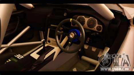 Nissan Skyline R34 pour GTA San Andreas vue de droite