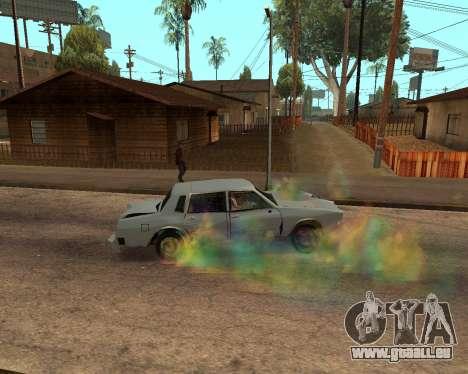 Rainbow Effects pour GTA San Andreas huitième écran