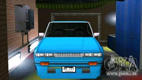 Toyota Cresta GX71 pour GTA San Andreas sur la vue arrière gauche