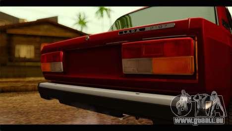 VAZ 21074 pour GTA San Andreas vue arrière