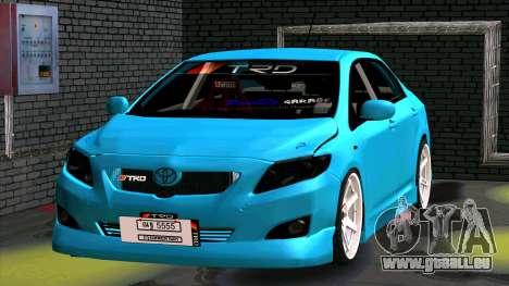 Toyota Corolla Altis für GTA San Andreas