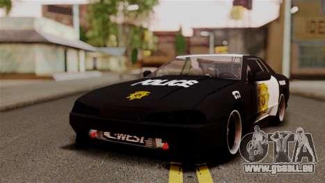 Elegy Full Customizing pour GTA San Andreas vue de dessus