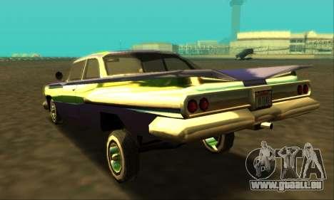 Luni Voodoo für GTA San Andreas linke Ansicht