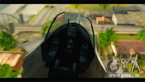 Mammoth Hydra v1 pour GTA San Andreas vue arrière
