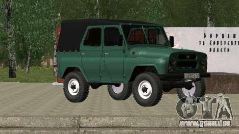 UAZ 469 für GTA San Andreas