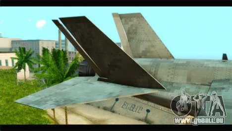 Mammoth Hydra v1 pour GTA San Andreas sur la vue arrière gauche