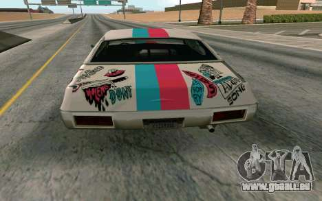 Clover Blink-182 Edition pour GTA San Andreas vue de droite