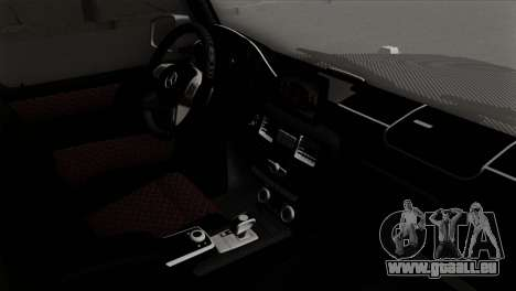 Mercedes-Benz G65 AMG Carbon Edition für GTA San Andreas rechten Ansicht