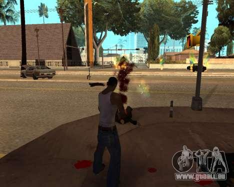 Rainbow Effects pour GTA San Andreas troisième écran