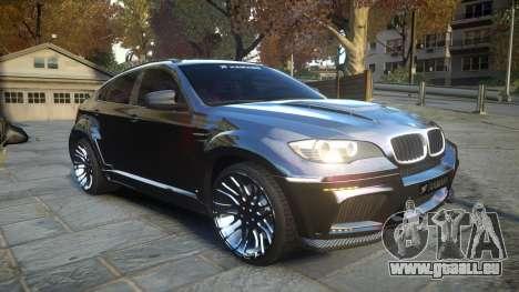 HAMANN BMW X6 2011 Tycoon EVO M v1.0 TSE für GTA 4 Innenansicht