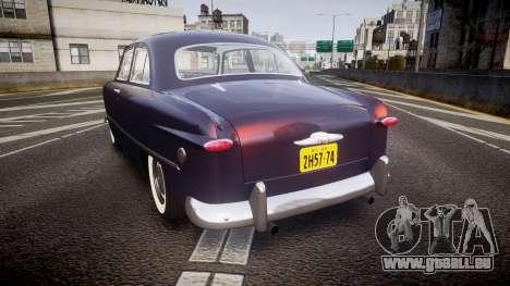 Ford Custom Tudor 1949 v2.2 für GTA 4 hinten links Ansicht